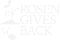 Rosen Gives Back - Footer Logo
