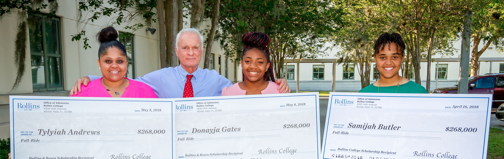 The Harris Rosen Foundation Awards its First Annual Rollins College Scholarships.